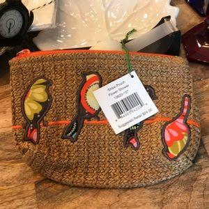 Vera Bradley woven pouch